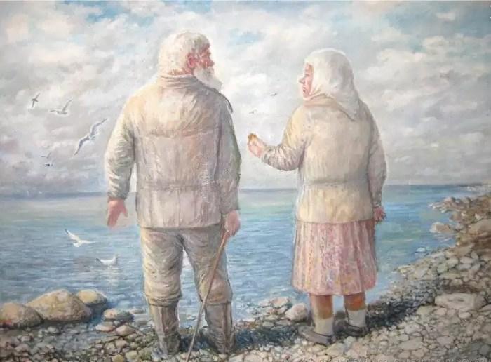 У самого Чёрного моря. Автор: Леонид Баранов.