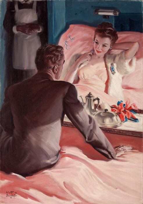 Любовь и другие неприятности. Автор: Волтер Мартин Баумхофер (Walter Martin Baumhofer).