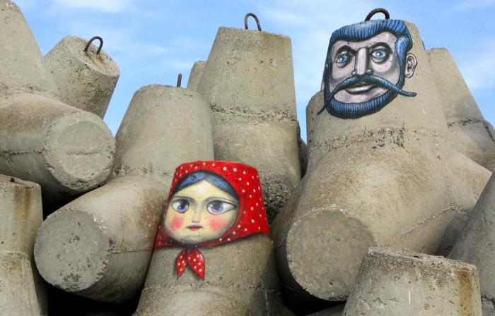 Матрёшка и Казак. Автор: Алексей Кислов.