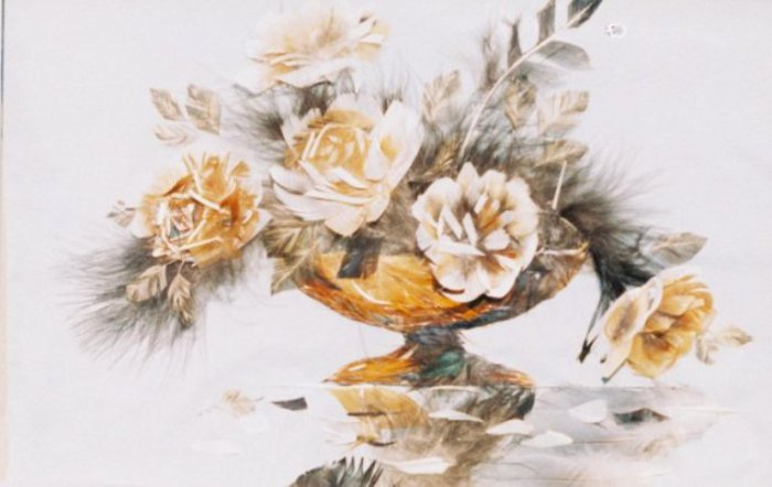 Цветочный натюрморт. Автор: Басараб Наталья.