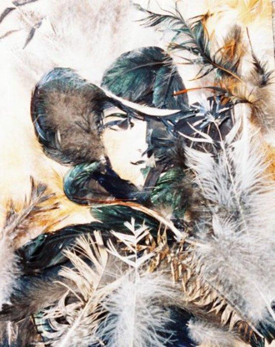Дама в шляпе. Автор: Басараб Наталья.