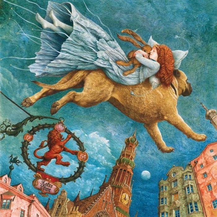 Иллюстрации к сказке Г. Х. Андерсена «Огниво». Автор: Владислав Ерко.