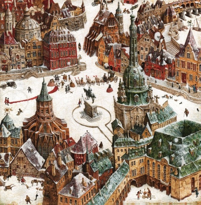 Работы Владислава отличаются точной проработкой мельчайших деталей.