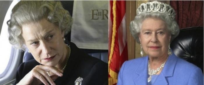Хелен Миррен и Королева Елизавета, «Королева».