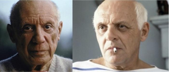 Пабло Пикассо и Энтони Хопкинс, «Прожить жизнь с Пикассо».