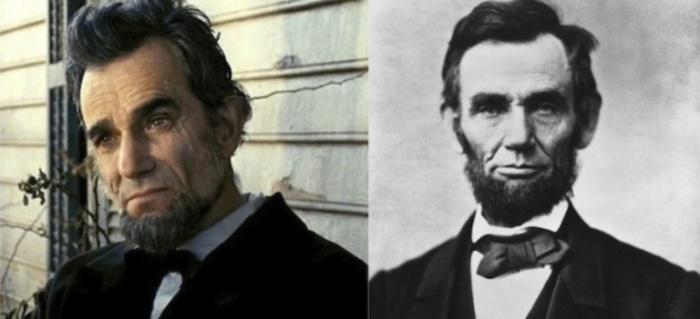 Дэниэл Дэй-Льюис и Авраам Линкольн, «Линкольн».