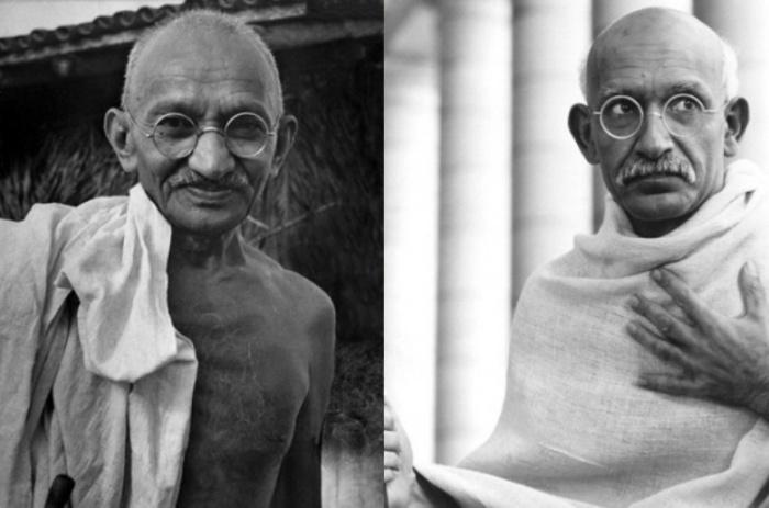 Махатма Ганди и Бен Кигсли, «Ганди».