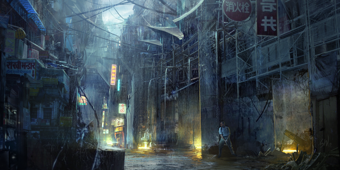 Город вечных дождей.