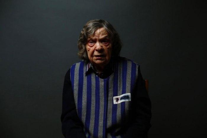 89-летняя Ядвига Богучка (Jadwiga Bogucka) находилась в Аушвице вместе с матерью.