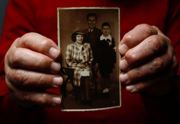Богдан оказался в лагере вместе с матерью.