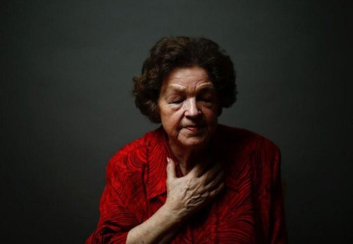Данута Богданюк-Богучка (Danuta Bogdaniuk-Bogucka) попала в Аушвиц 10-летней девочкой. Йозеф Менгеле ставил над ней свои эксперименты.