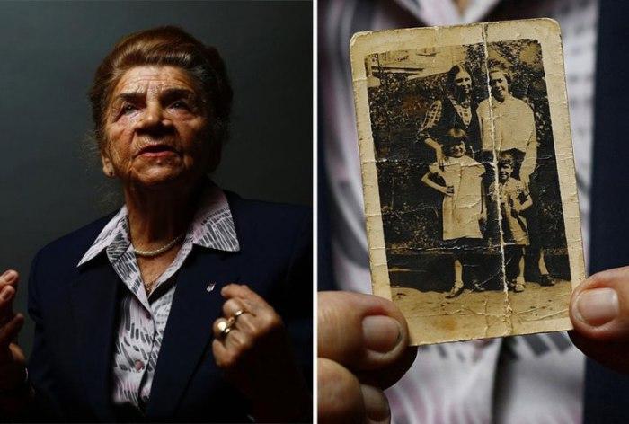 82-летняя Мария Строинска (Maria Stroinska) вспоминает свою семью.