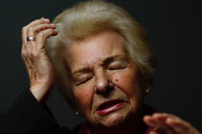 82-летняя Галина Бржожовска (Halina Brzozowska).