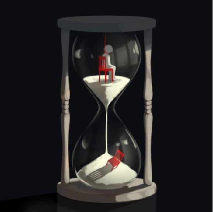 Время никого не щадит. Автор: avogado6.