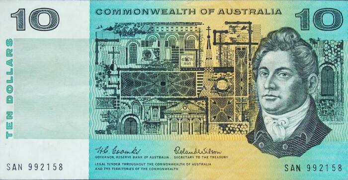 Фрэнсис Гринуэй изображён на десятидолларовой банкноте 1966 года. \ Фото: incredibilia.ro.