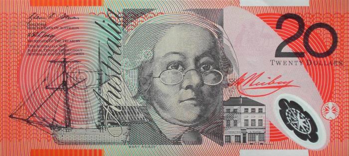 Мэри Хейдок на двадцатидолларовой банкноте. \ Фото: google.com.ua.