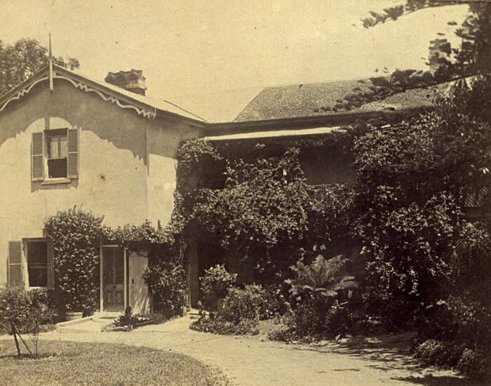 Дом Мэри Рейби в Ньютауне, 1923 год. \ Фото: pinterest.ru.