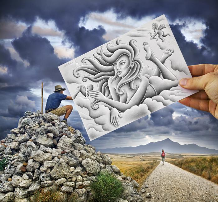 Рисунок и фотографии, открытки
