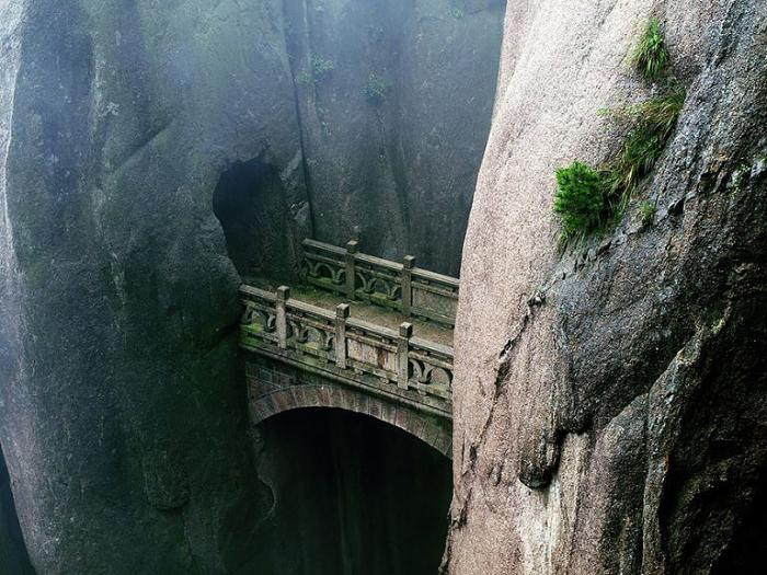 Мост. Хуаншань, Аньхой, Китай.