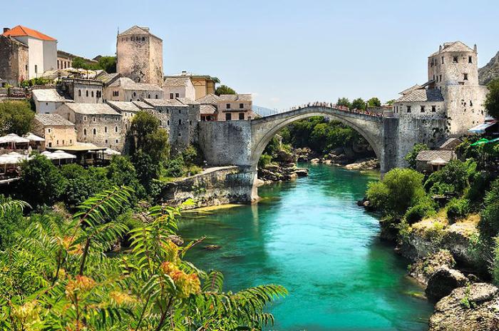 Старый мост. Босния и Герцеговина.