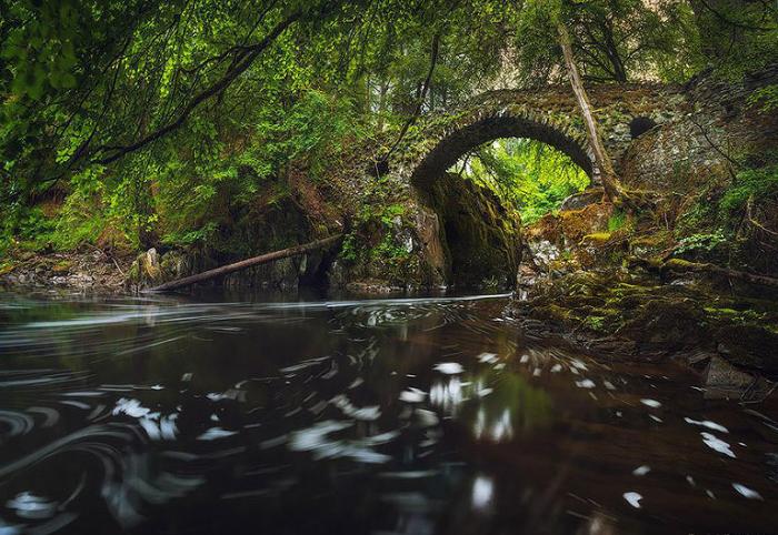 Эрмитажный Мост, Шотландия.