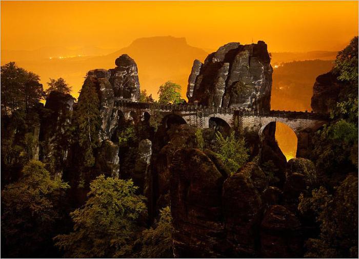 Мост Бастай, Германия.