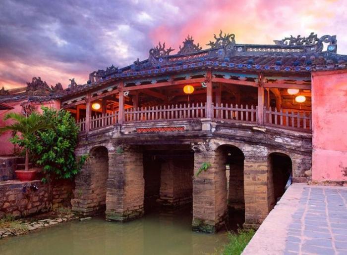 Японский крытый мост в Хой Ан, Вьетнам.