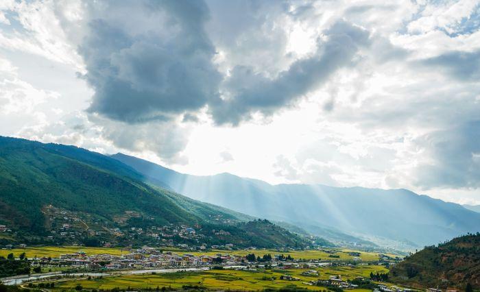 Долина Пунакха.
