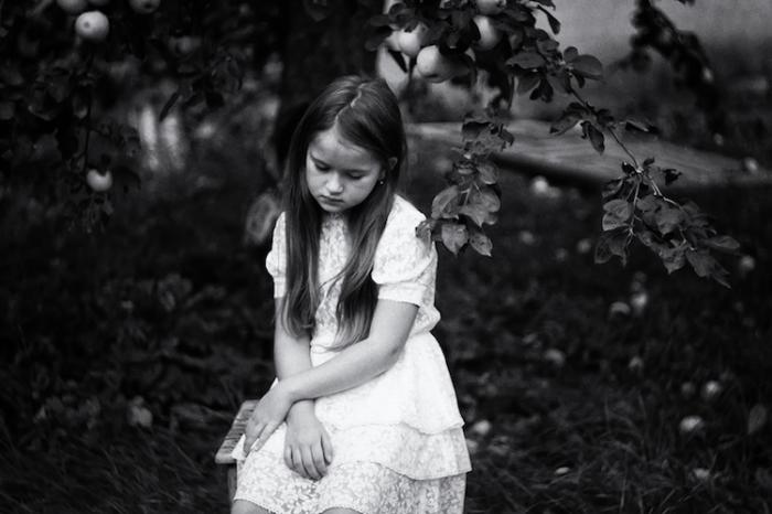 Яблочный сад. Автор: Ольга Агеева, Россия.