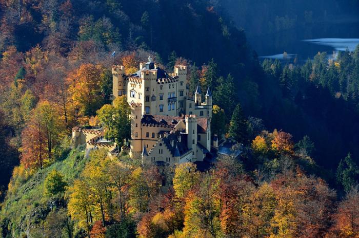 Замок Хоэншвангау, Германия.