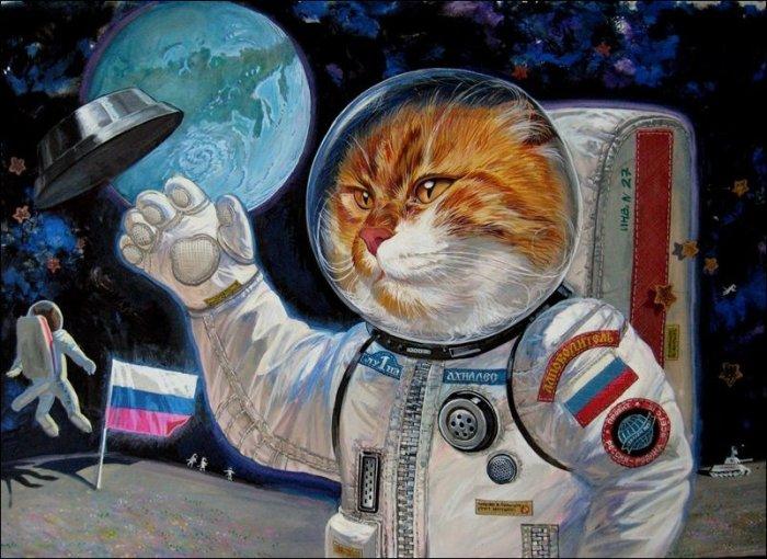 Наши на Луне! Автор: Александр Завалий.