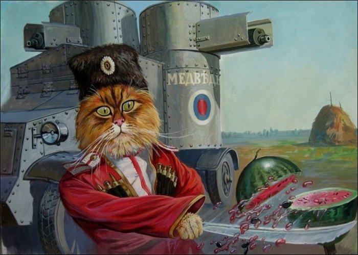 Медведовский казак. Автор: Александр Завалий.