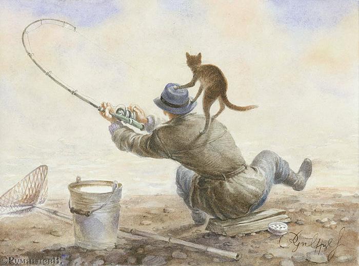 На рыбалке. Хеллоуин по-питерски