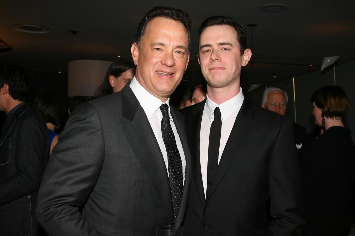 Колин с отцом. \ Фото: closerweekly.com.