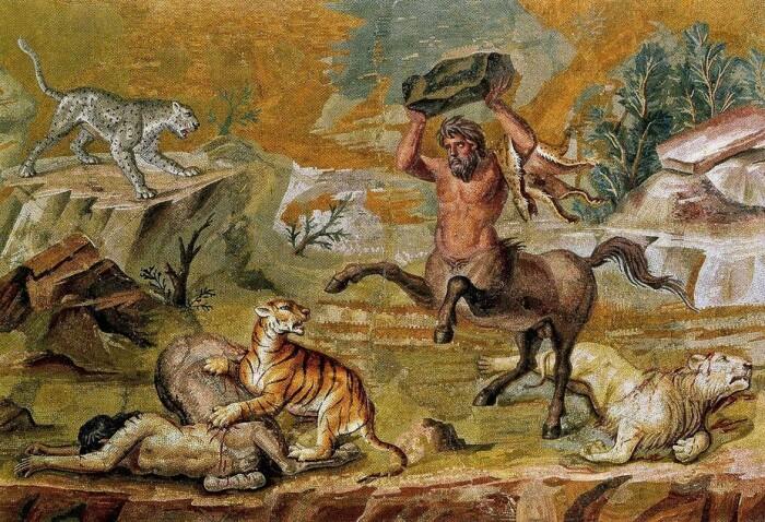 Кентавры в греческой мифологии. \ Фото: kerchtt.ru.
