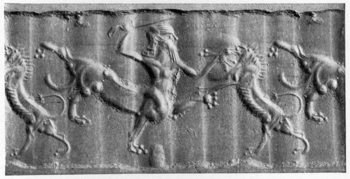 Артефакт с изображением мифологических существ. \ Фото: cayzle.com.