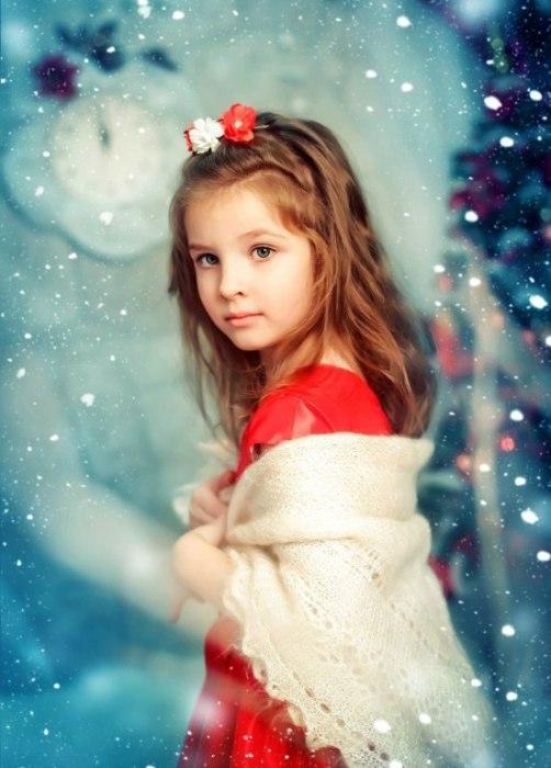 Девочка из снежных далей.