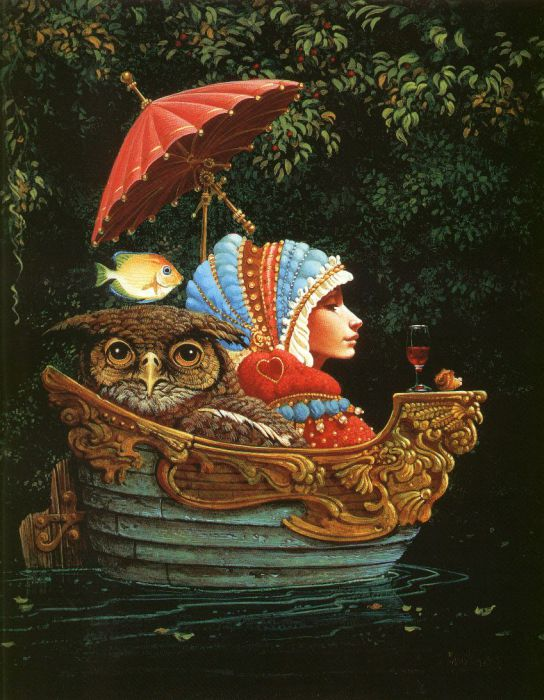 Прогулка на лодке. Автор: Christensen James C.