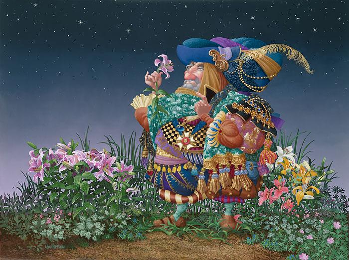 Цветок. Автор: Christensen James C.