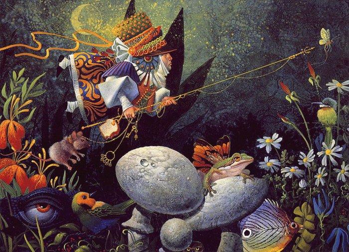 Ловец бабочек. Автор: Christensen James C.
