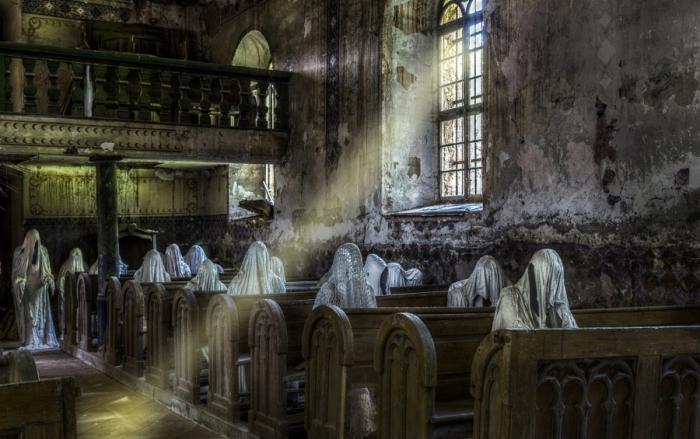 Церковь с привидениями. Автор фото: Dieter Jaschke.