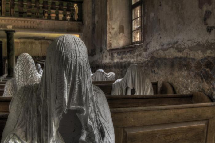 Призраки церкви. Автор фото: Кристоф.