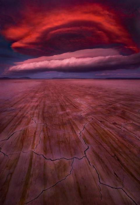 Космические облака.