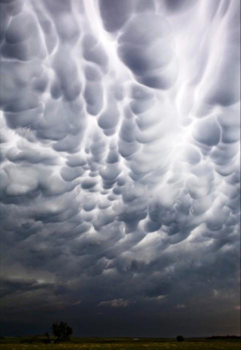 Мраморные облака.