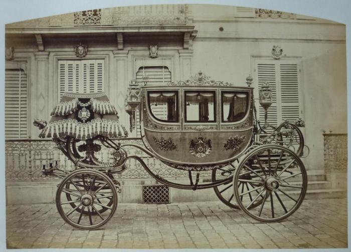 Коронационная карета императора Бразилии Педру II.