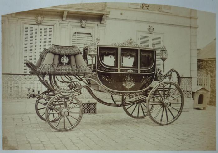 Карета императора Бразилии Педру II.
