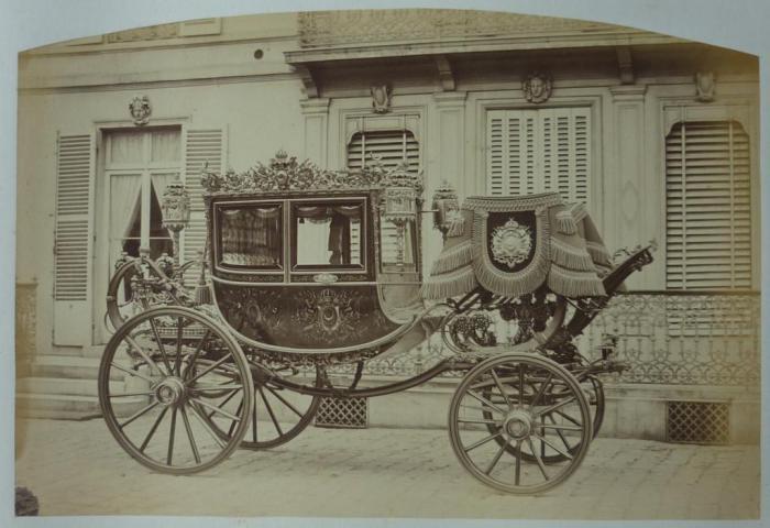 Карета турецкого султана Абдул-Азиза. 1867 год.