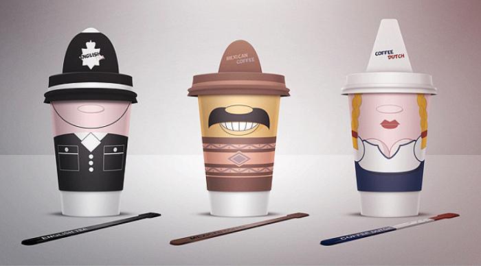 Кофейные чашки. Алекс Литовка.