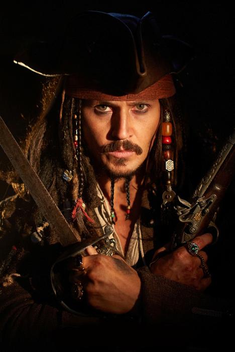 Виталий Sparoff. Легендарный пират, капитан Джек Воробей.