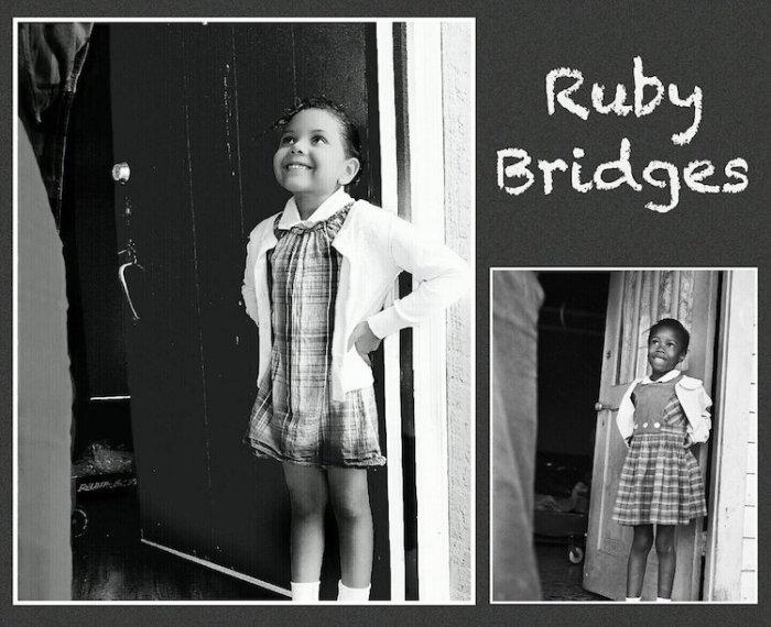 Лола в образе Руби Бриджес. Автор: Cristi Smith-Jones.
